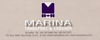 MARINA TRANSPORT EST & CRUSHER.